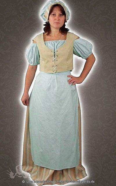 Mittelalter Landfrauen Kostüm