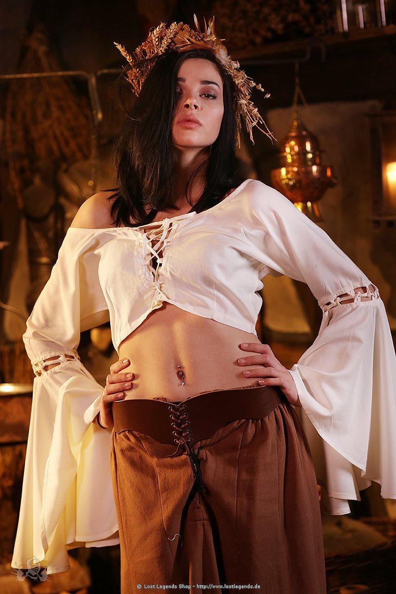 Mittelalter Larp Bluse Celestyne
