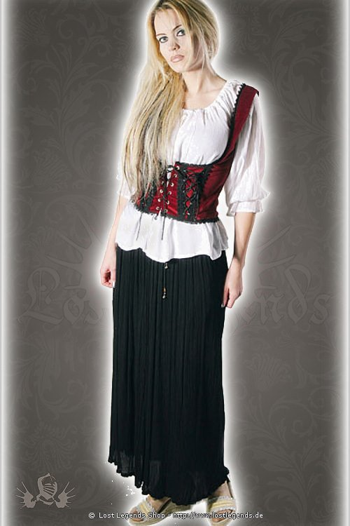 medieval vest with laces Zylena