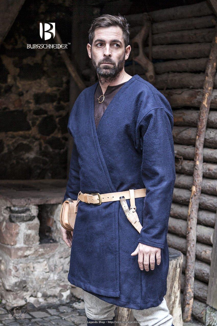 Mittelalter Klappenrock Loki, blau