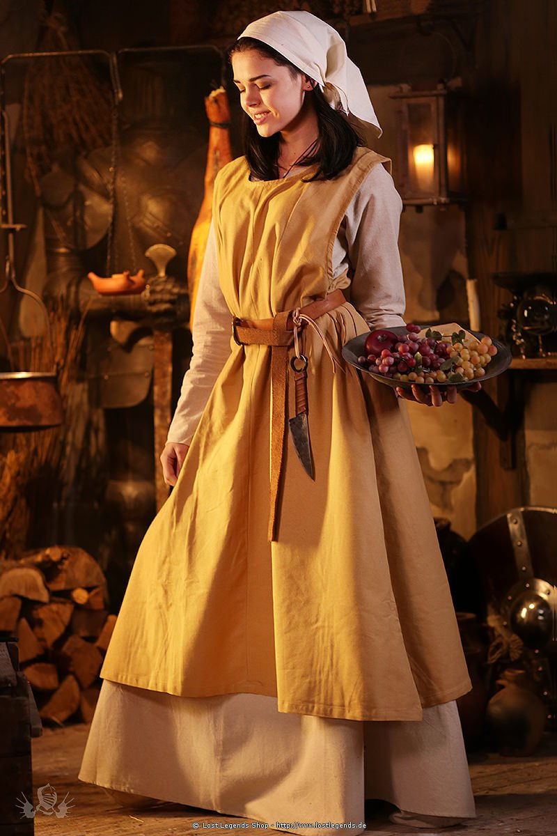 Medieval Surcoat country woman