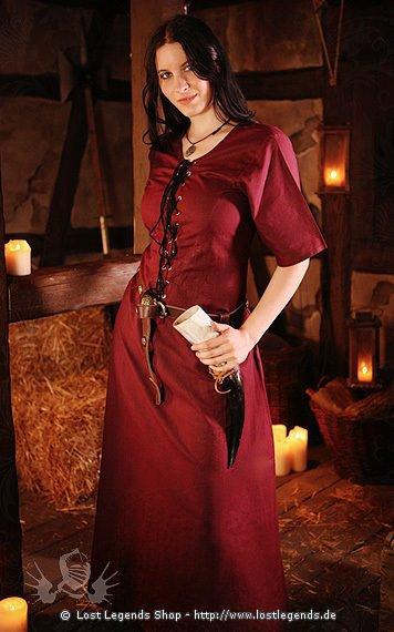 Mittelalter Überkleid Leanie