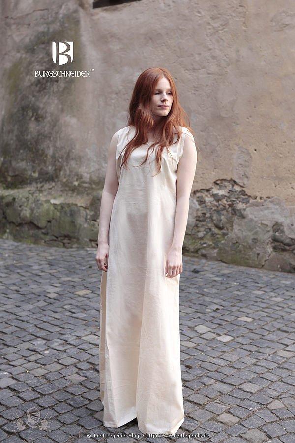 Mittelalter Unterkleid Aveline, natur