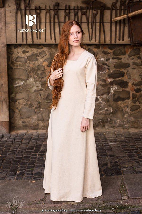 Mittelalterliche Cotte Johanna, natur