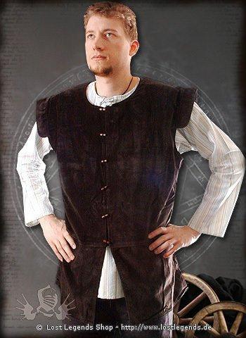 Mittelalter-Wams aus Samt
