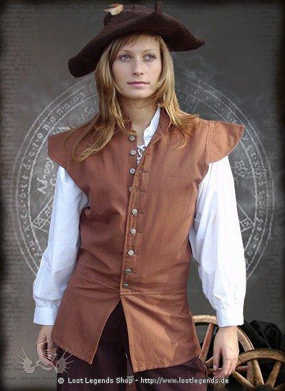 Mittelalter Wams Baumwolle