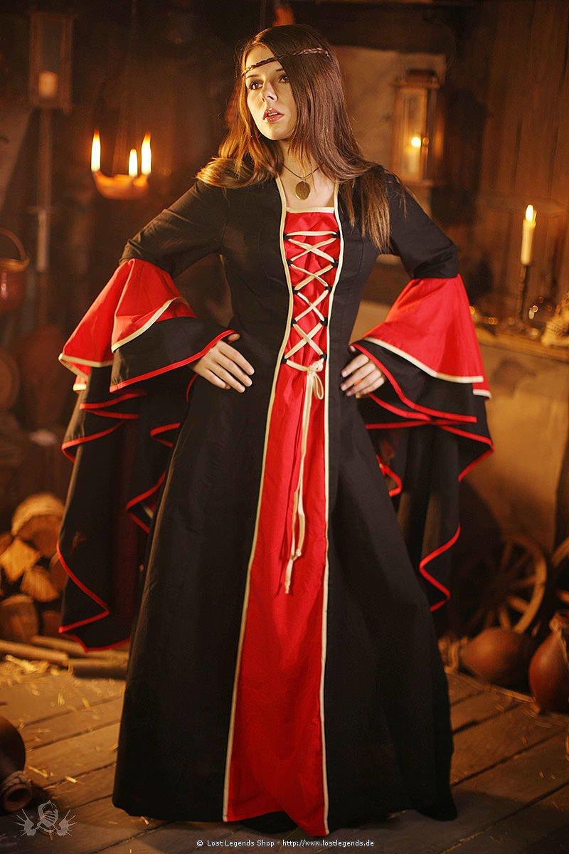 Mittelalterliches Adelskleid Hanna