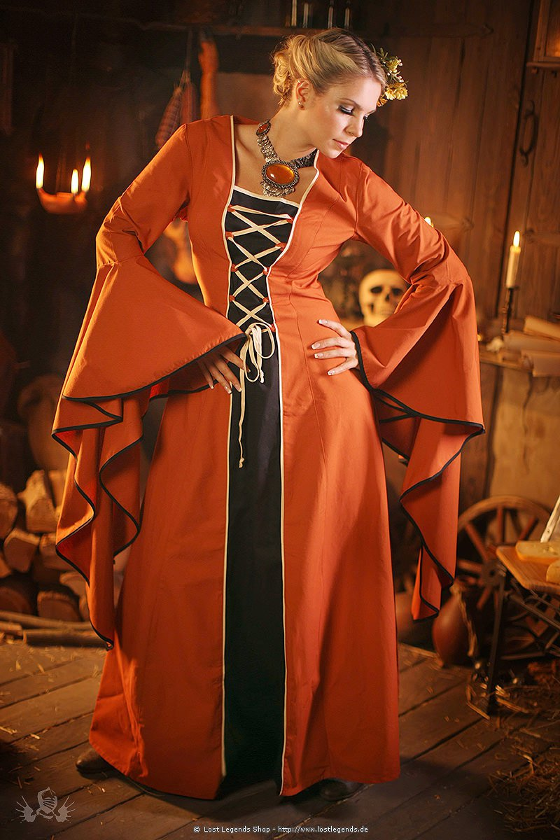 Mittelalterkleid Mittelaltergewand Vherena
