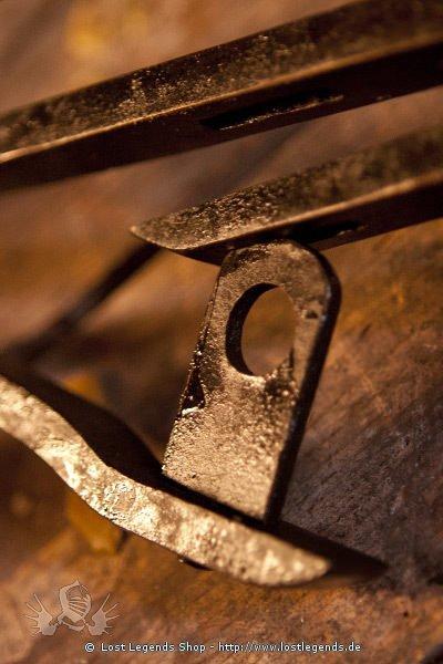 Mittelalterliche Handschellen handgeschmiedet