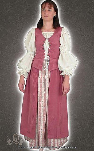 Mittelalterliche Schneiderin Kostüm