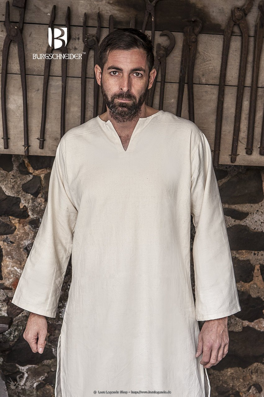 Medieval Under Tunic Leif, natural