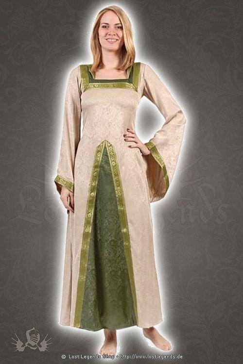 medieval brocade dress Lillya