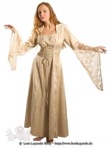 Mittelalterliches Kleid Brokat