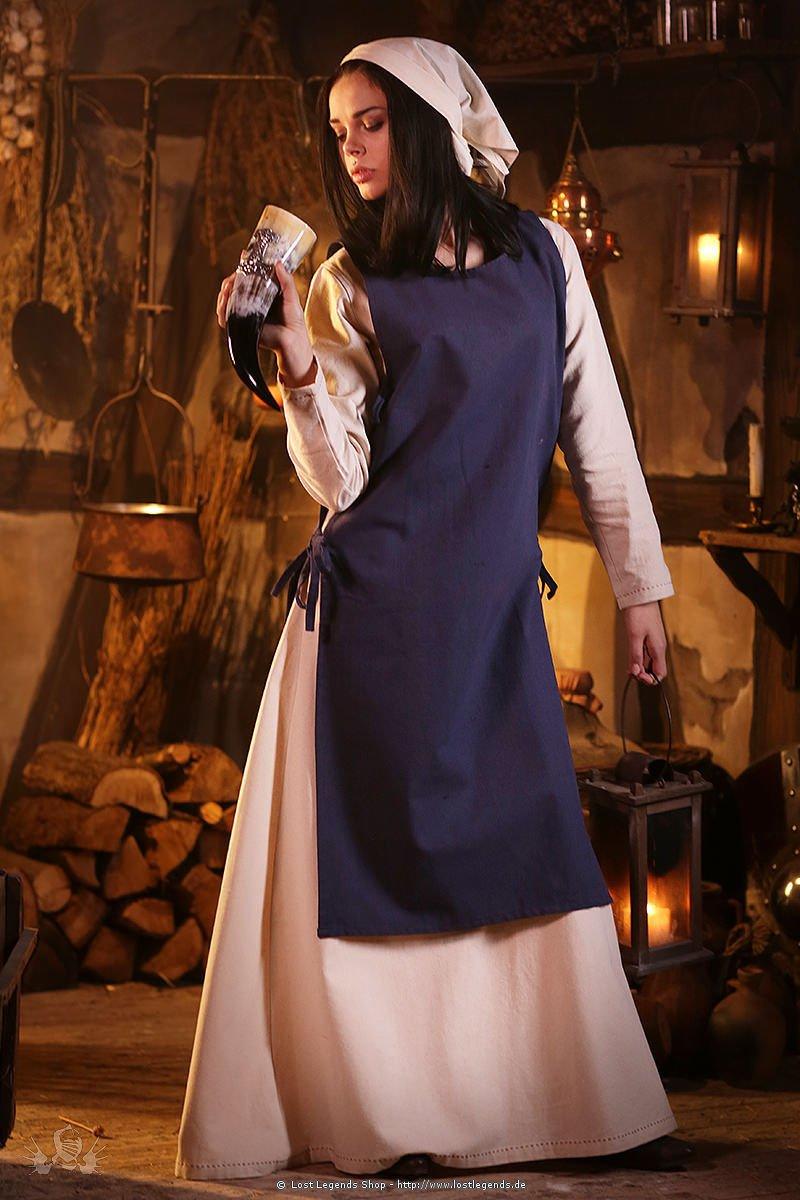 Mittelalterliches Überkleid Haithabu, blau