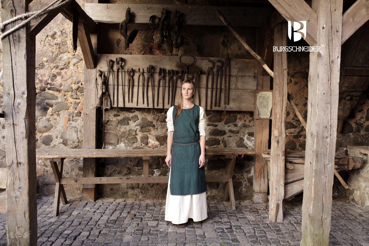 Mittelalterliches Überkleid Haithabu, dunkelgrün