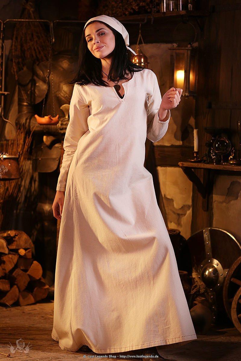 Mittelalterliches Unterkleid Feme, natur