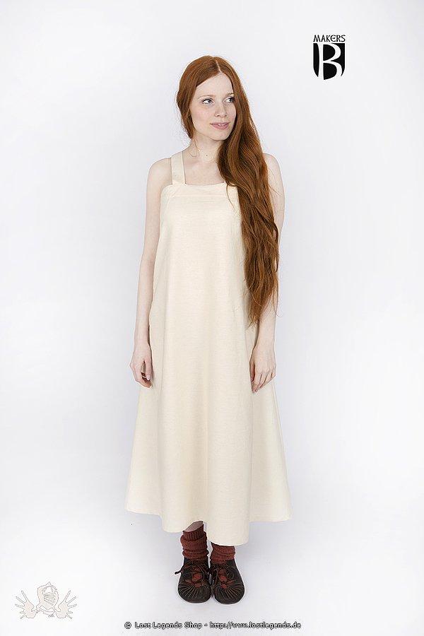 Mittelalterliches Zuberkleid Metta, natur