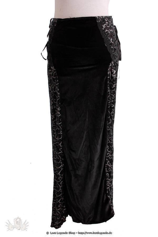 Mix Scroll Gothic Skirt