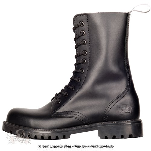 Mode Wichtig 10-Eye Classic Boots Leather