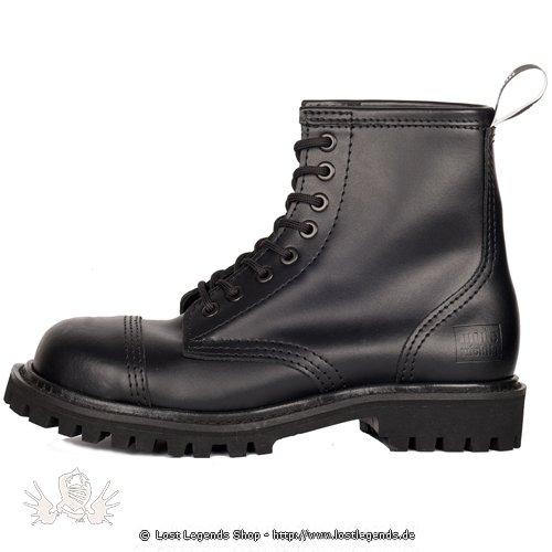 Mode Wichtig 8-Eye Steel Boots Leather