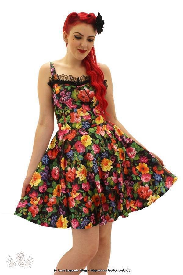 Monroe Floral Pin Up Skirt