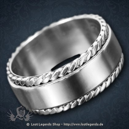 Moving Ring Silber