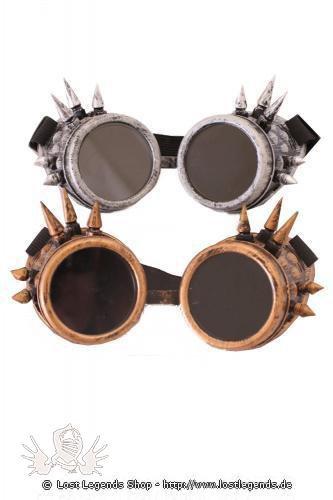 Multi Spike Goggles Steampunk