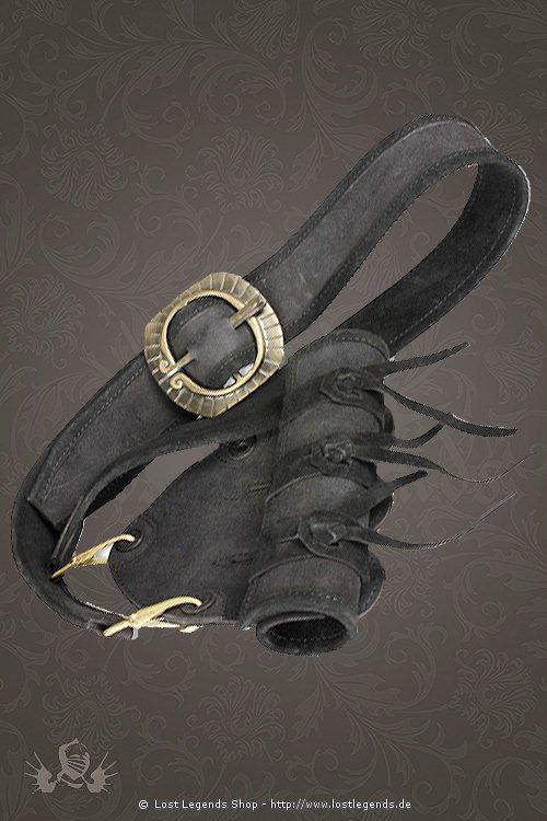 Musketeer Schwertgehänge schwarz