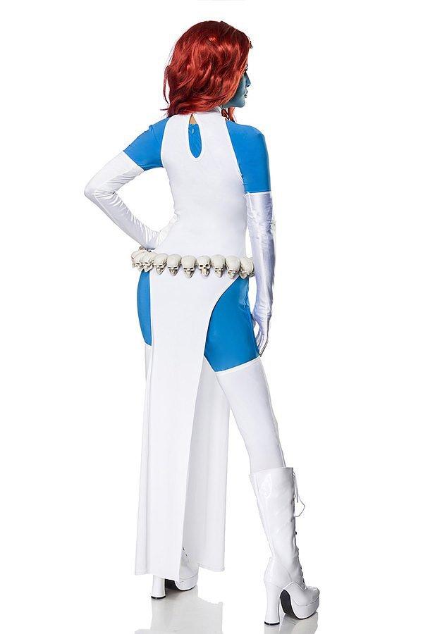 Mystic Cosplay Kostümset weiß/blau