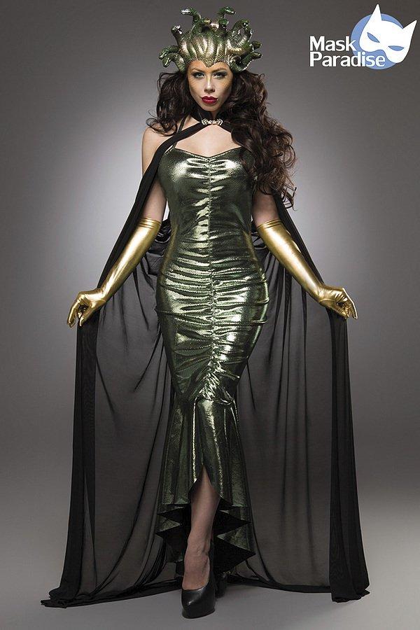 mystic medusa halloween kost m film fantasy kost me. Black Bedroom Furniture Sets. Home Design Ideas