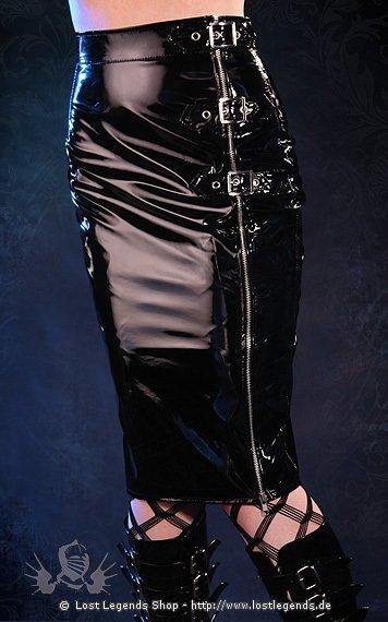 Natalie Zip Skirt Lack