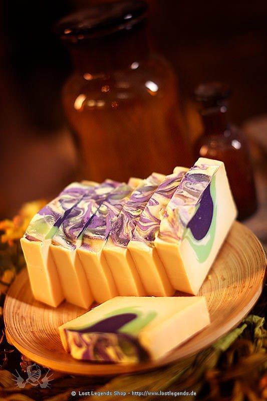 Naturseife Lavendel-Ziegenmilch