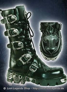 New Rock Cross Boots 403-S1, Black