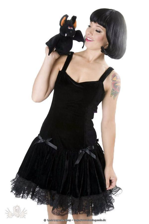 Nightshade Velvet Gothic Kleid