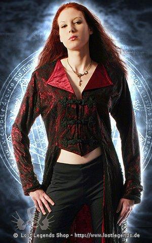 Nightwish Coat Mantel, Satin