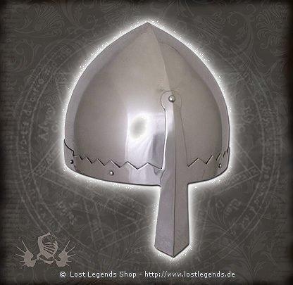 Normannischer Nasalhelm mit Lederinlay