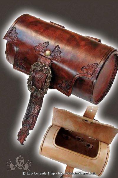 Oak Barrel Purse Gürteltasche, Leder