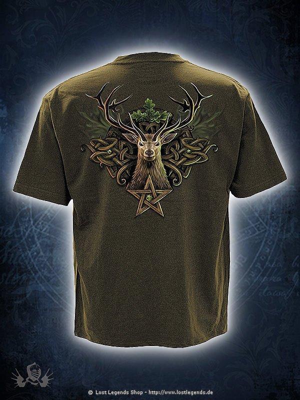 Oak King T-Shirt oliv SPIRAL
