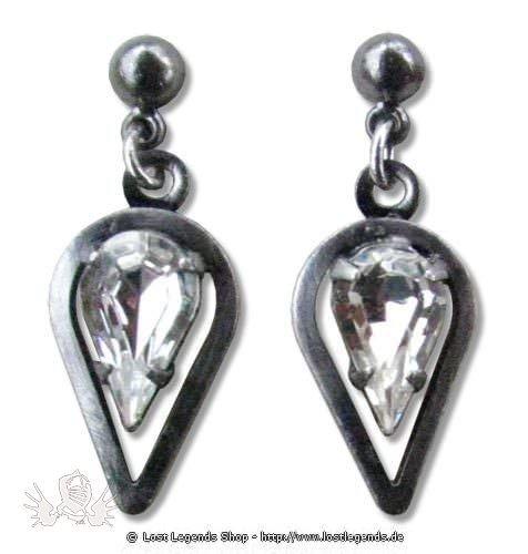 Ohrringe Celtic Spearhead kristall