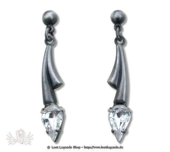 Ohrringe Foxgloves Night kristall