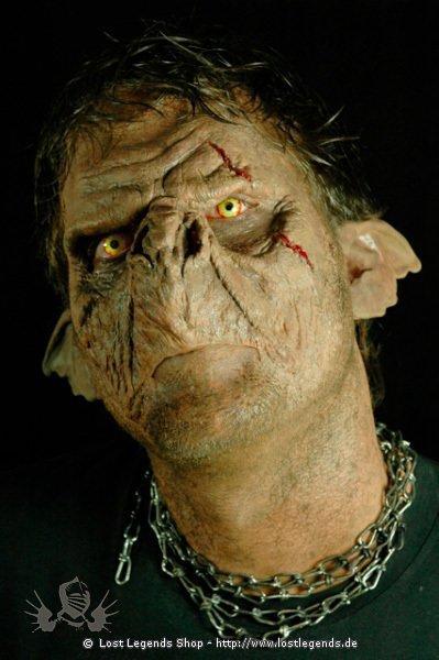 Ork Hunter Maske Deluxe Kit mit Schminke