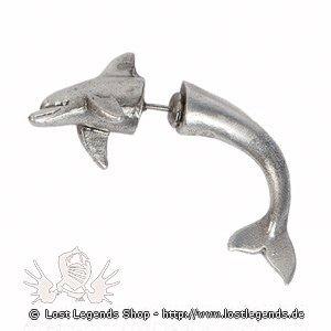 Pass n Thru Ohrringe Delfin