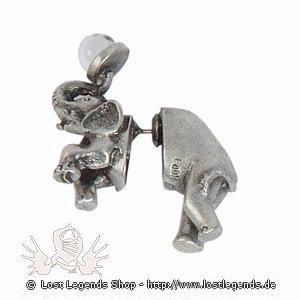 Pass n Thru Ohrringe Elefant