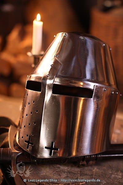 Pembridge Helmet schaukampftauglich, 2mm Stahl