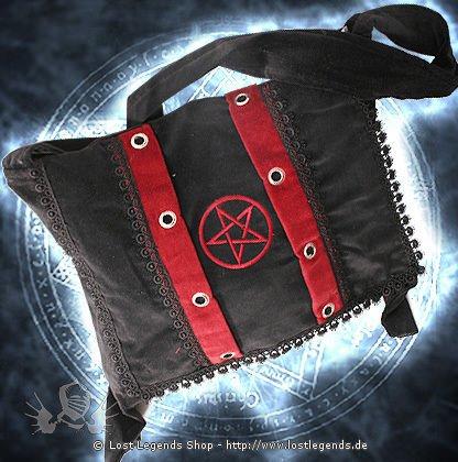 Pentacle Bag Tasche, Samt