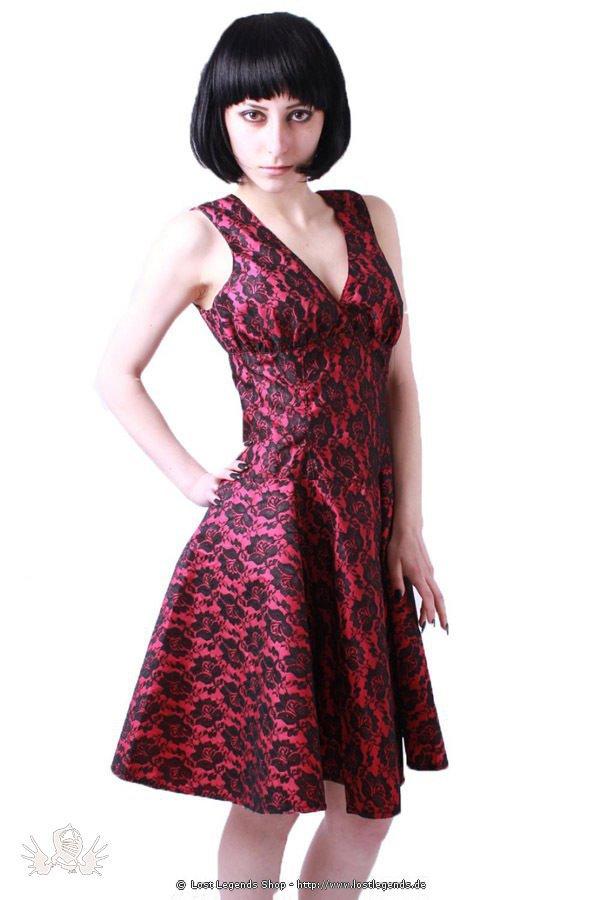 Pink Rose Gothic Kleid