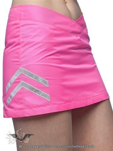 Pinkfarbener Minirock