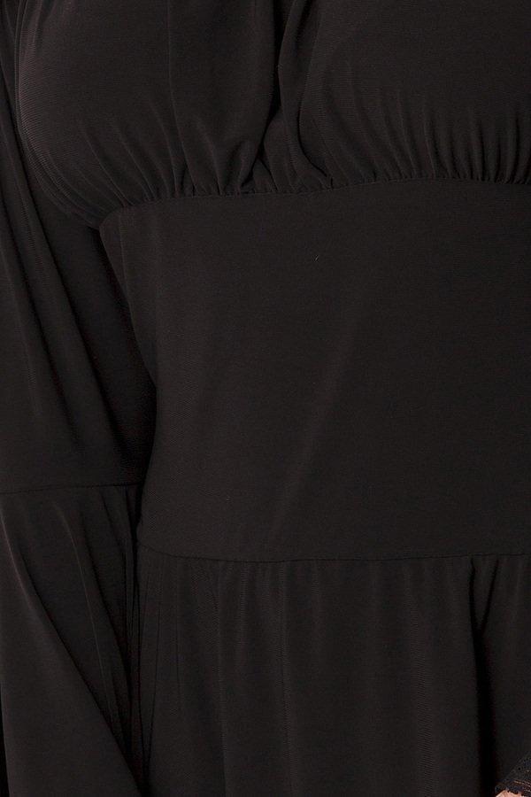 Piraten-/Mittelalterkleid oder Longbluse schwarz