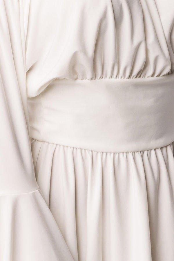 Piraten-/Mittelalterkleid oder Longbluse weiß