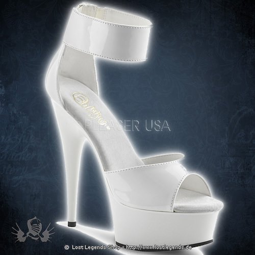 Pleaser DELIGHT-670-3 Weiss